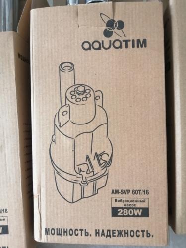Вибрационный насос AQUATIM AM-SVP60T/16